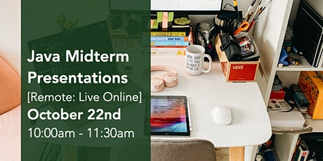 Java Virtual Midterm Presentations tickets