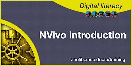 NVivo Introduction webinar tickets