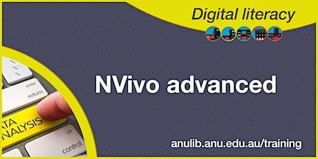 NVivo Advanced webinar tickets