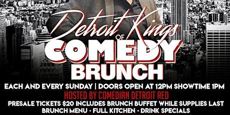 Detroit Kingz Of Comedy Brunch tickets