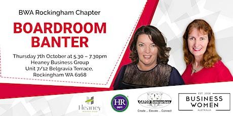 Rockingham, Business Women Australia: Boardroom Banter tickets