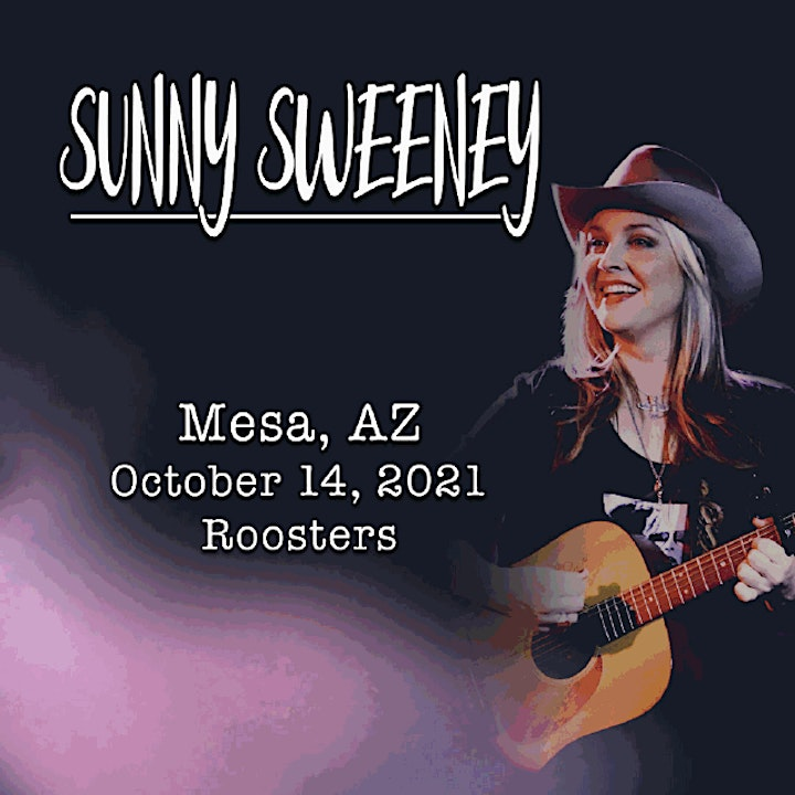 Sunny Sweeney @ Roosters Country image