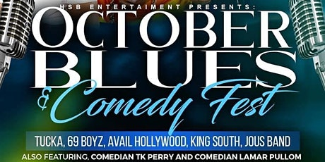 October Blues and Comedy Fest tickets