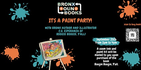 IT'S A PAINT PARTY! WITH BRONX BOUND BOOKS FT. C.G. Esperanza tickets