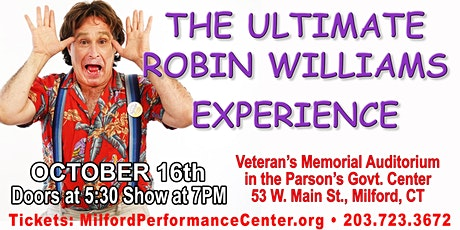 The Ultimate Robin Williams Tribute Experience! starring Roger Krabler tickets