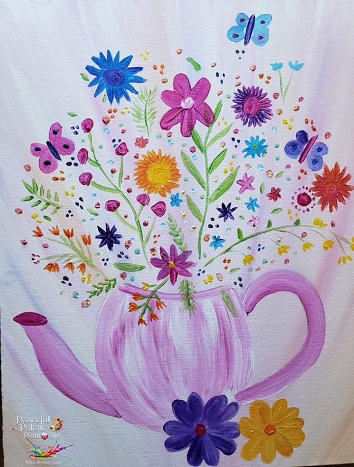 The Good Choice Project Paint 'n' Sip Ladies Night with Toombul District CC image