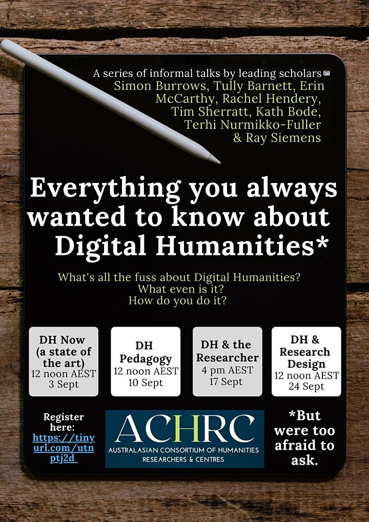 Everything You Always Wanted To Know About Digital Humanities image