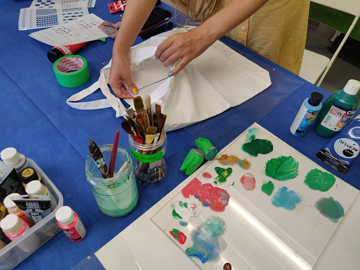 Printmaking Month: Stencil Making Workshop - Sep 18, 10 am - 12:30 pm image