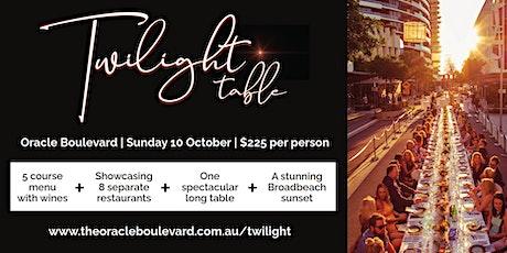 Oracle Boulevard Twilight Table Dinner 2021 tickets