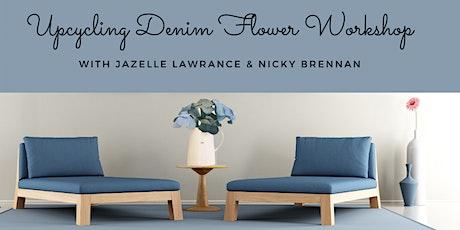 Upcycling Art Workshop - Denim Flower Bouquet tickets