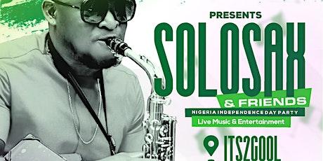 Solo Sax & Friends tickets