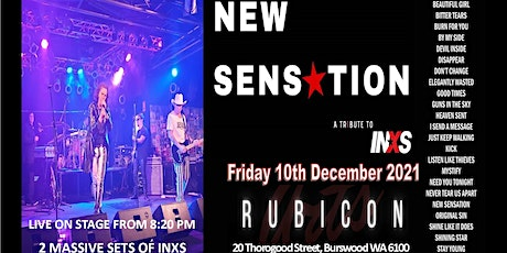New Sensation - INXS Tribute - Live at The Rubicon Burswood tickets