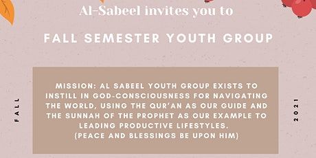 Al-Sabeel Fall Semester Youth Group tickets