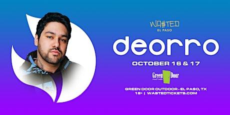 El Paso: Deorro @ Green Door Outdoor - Sunday October 17th  [18 & OVER] tickets