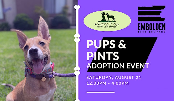 Pups & Pints at Embolden Brewery image
