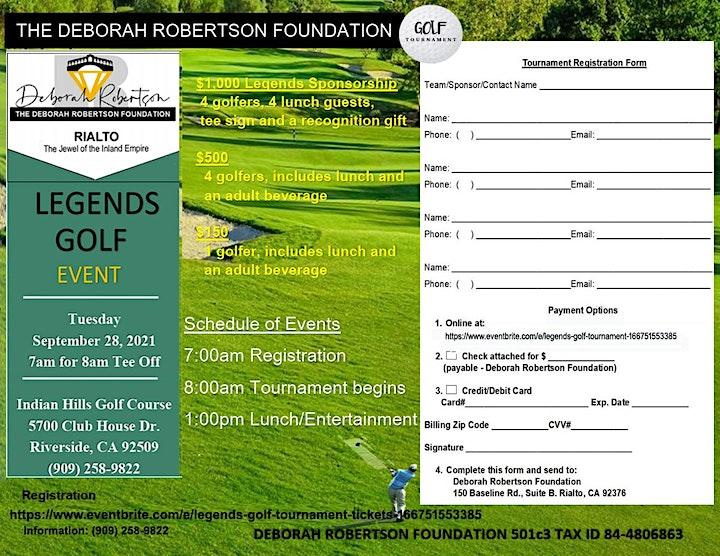 Legends Golf Tournament image