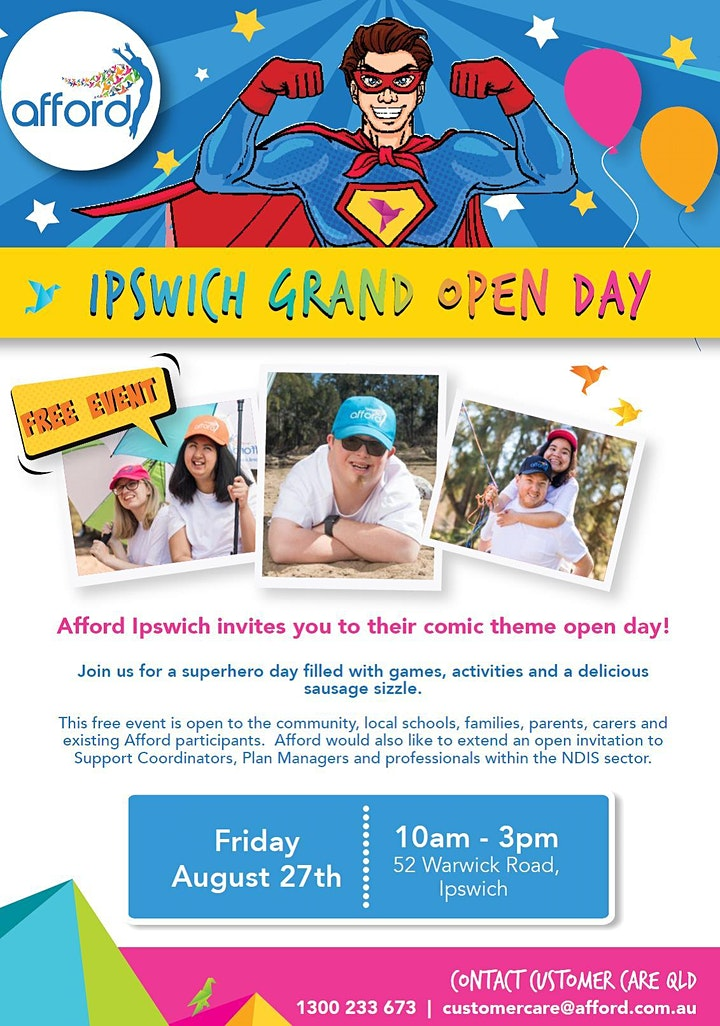 Afford Ipswich Open Day image