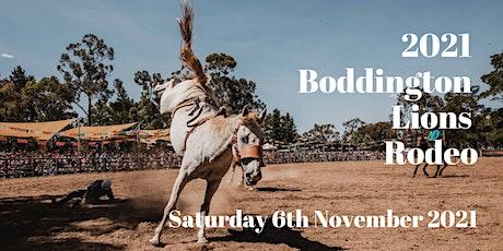 Boddington Lions Rodeo tickets