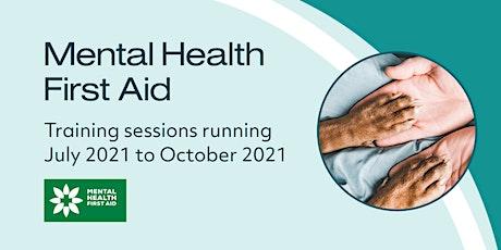 Mental Health First Aid - New Zealand Class 1 tickets