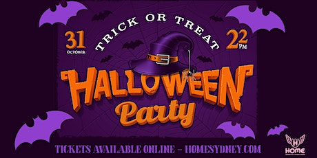 HOME'S HALLOWEEN PARTY tickets