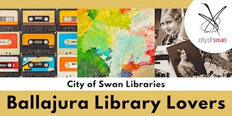 Library Lovers: Talk with Steve Collins, Travel Correspondant (Ballajura) tickets