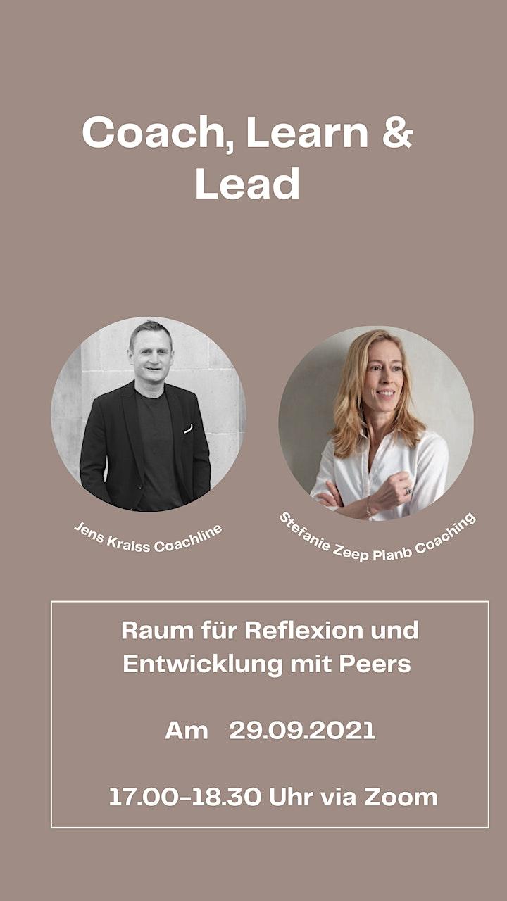 Coach, Learn & Lead - Raum für Reflexion und Entwicklung mit Peers: Bild