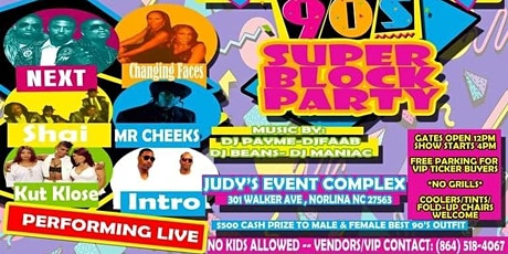 90's Super Block Party tickets