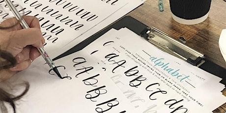 Beginner Brush Lettering Workshop tickets