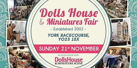 York Dolls House & Miniatures Fair-Winter tickets