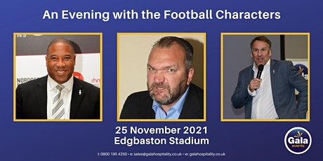 An Evening with the Football Characters tickets
