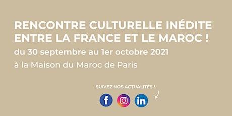 Rencontres de la Diplomatie Culinaire France-Maroc 2021 billets