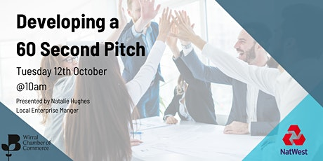 Developing a 60 Second Pitch tickets