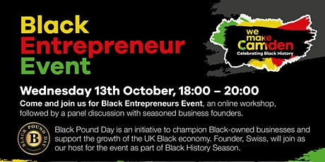 Aspirations and opportunities highlighting Black entrepreneurs tickets
