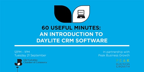 60 Useful Minutes- An Introduction To Daylite CRM Software tickets