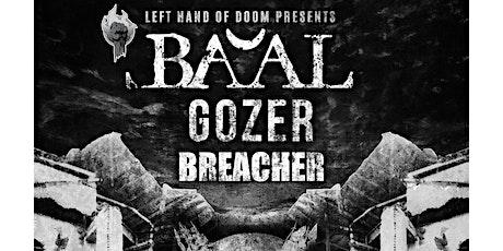 Ba'al/ Gozer co-headliner @ The Chameleon, Nottingham tickets