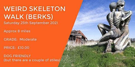 WEIRD SKELETON WALK | 8 MILES | MODERATE | BERKSHIRE tickets