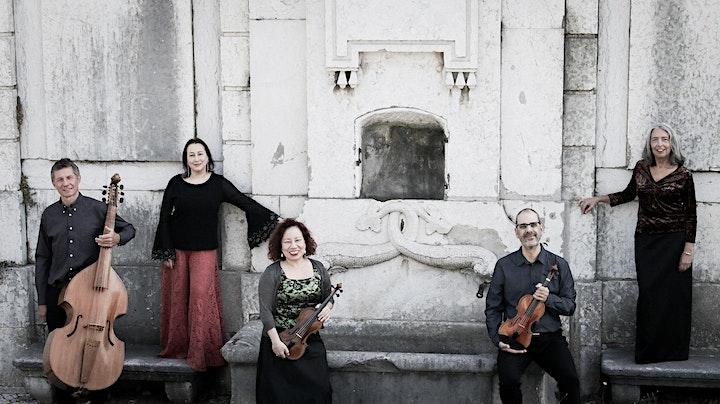 """imagem CONCERTO """"O BARROCO FESTIVO"""", pelo Ensemble D. João V, com Sandra Medeiros"""