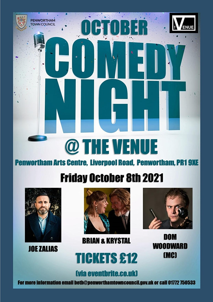 October Comedy Night @ The Venue image