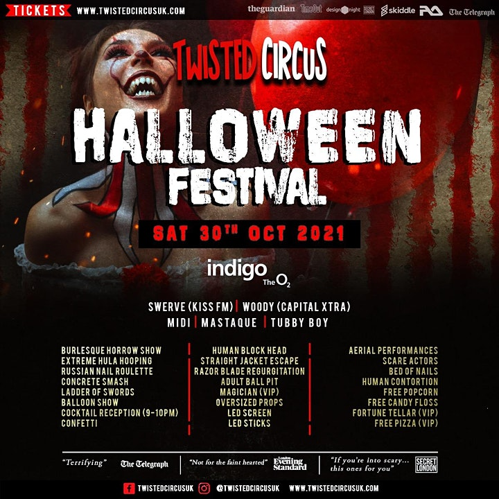 Twisted Circus Halloween Festival 2021 image