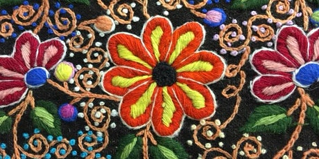 Introduction to Andean hand embroidery tickets