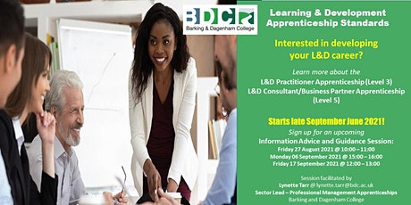 Learning & Development Apprenticeships Information Session tickets