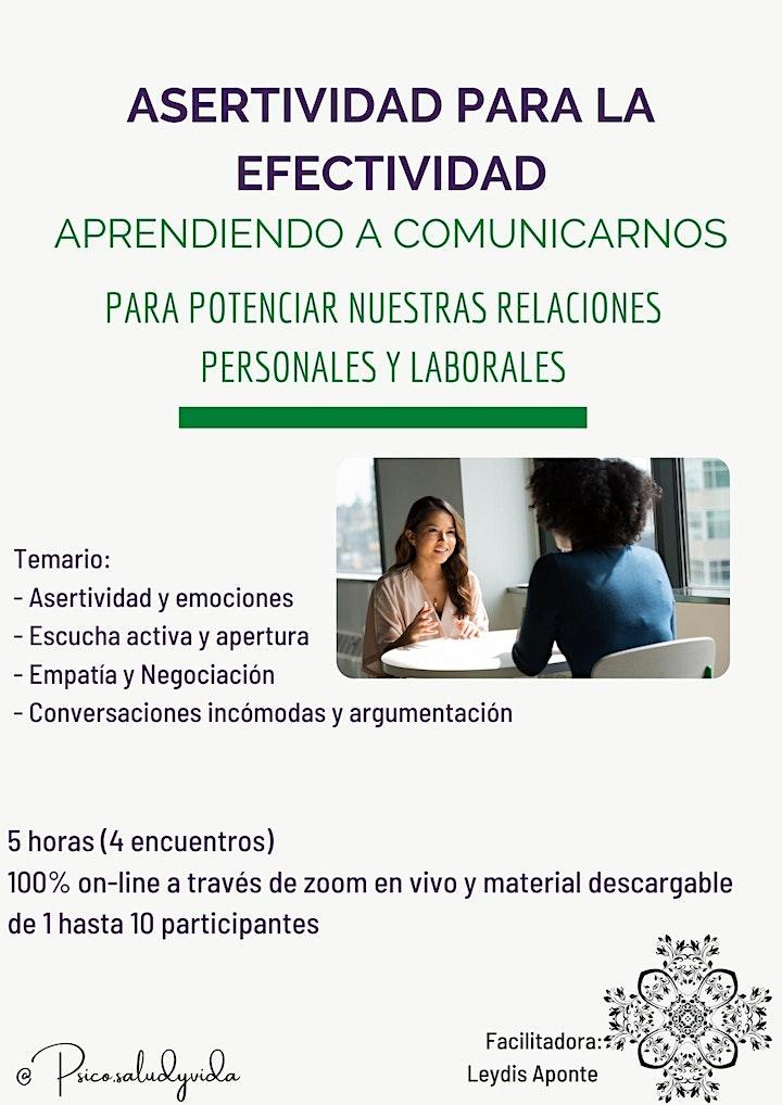 Imagen de Workshop: Comunicación asertiva para la efectividad