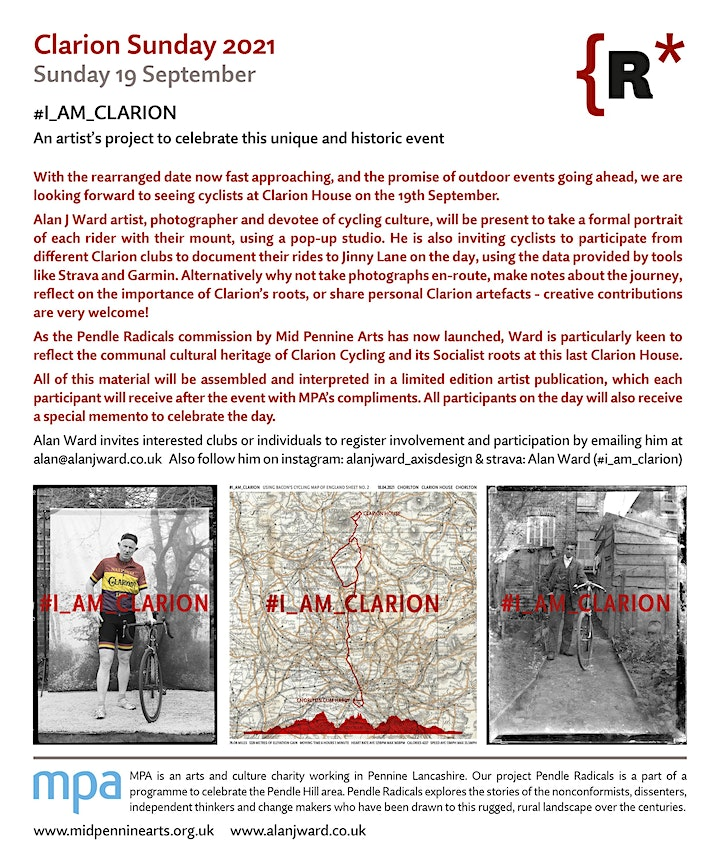 Clarion Sunday 2021- The Annual Gathering of Clarion Cyclists and Choirs image