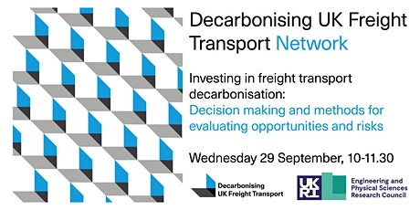 Investing in freight transport decarbonisation tickets