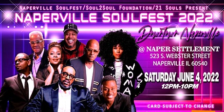 Naperville Soulfest 2022 Downtown Naperville Summer of Souls tickets