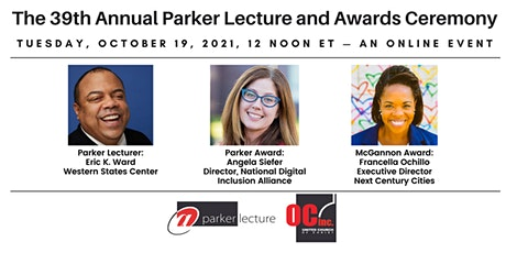 39th Annual Parker Lecture & Awards Ceremony tickets