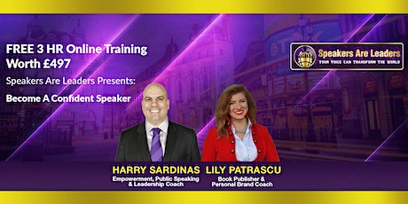 How To Grow Your Business Through Public Speaking 6:00PM UK time tickets