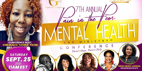 2021 Pain in the Pews: Mental Health and Ministry Conference tickets