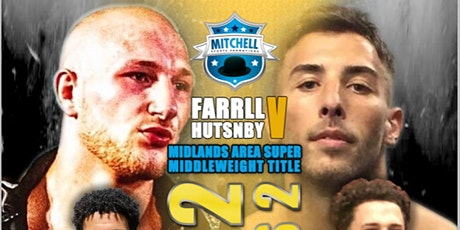 BACK 2 BUSINESS  - MIDLANDS AREA SUPER MIDDLEWEIGHT TITLE tickets