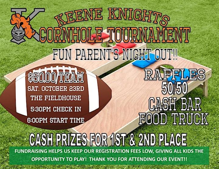 Keene Knights Cornhole Tournament image